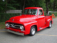 1955 Ford F-100 Pickup Modified