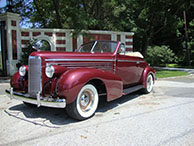 1938  LaSalle Convertible modified