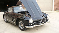 2007 Mercedes Replica 1955 Gull Wing Coupe made by Speedster Motorcars