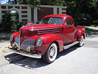 1939 Studebaker L-5 Coupe Express - Pickup