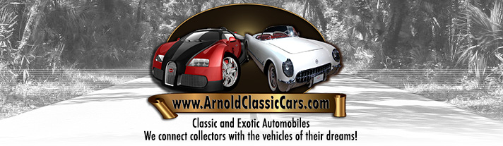 Classic and Exotic Automobiles. We connect collectors with the vehicles of their dreams!