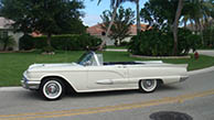 1959 Ford Thunderbird Soft Convertible